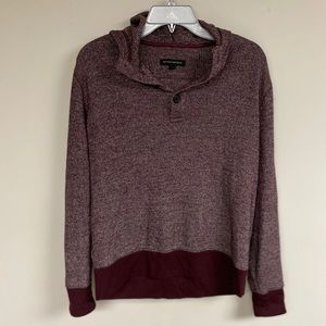 Other - Waffle-Knit Thermal T-Shirt Hoodie